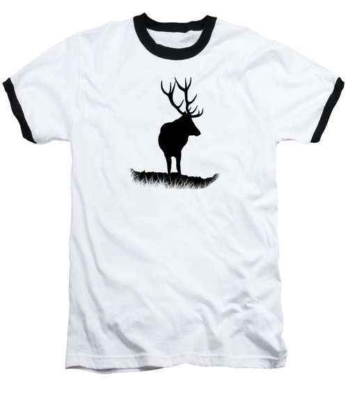 Monarch Of The Park  Baseball T-Shirt by Linsey Williams