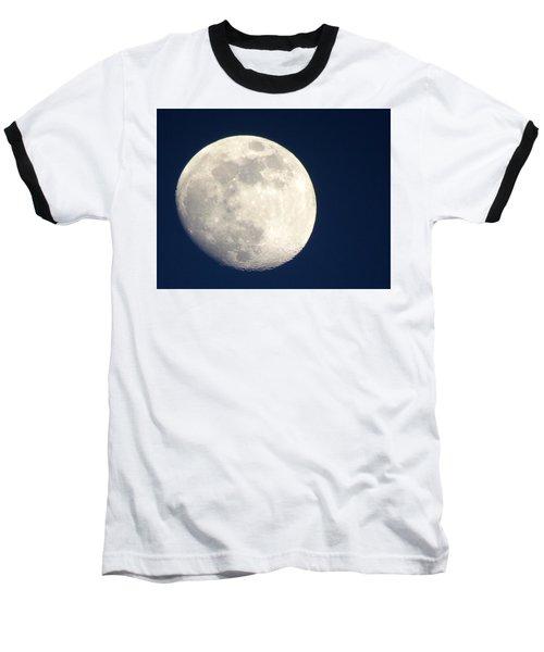 Moon In Blue Baseball T-Shirt