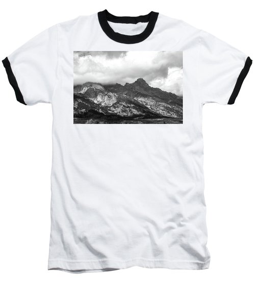 Baseball T-Shirt featuring the photograph Mountain Shadows by Colleen Coccia