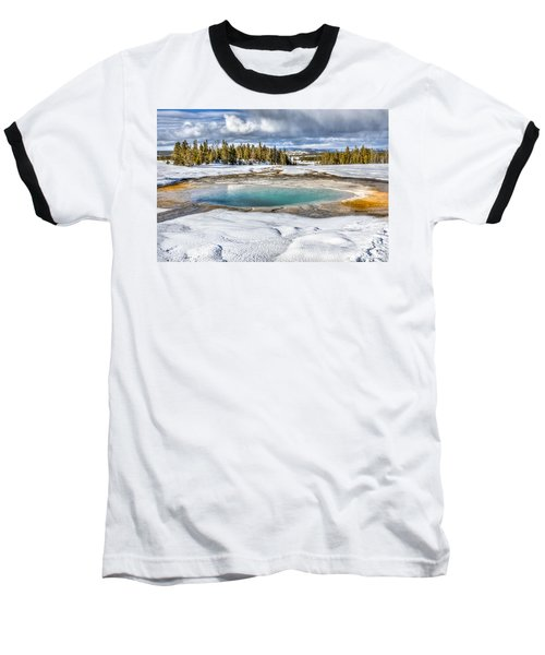 Nature's Painting Baseball T-Shirt by Yeates Photography