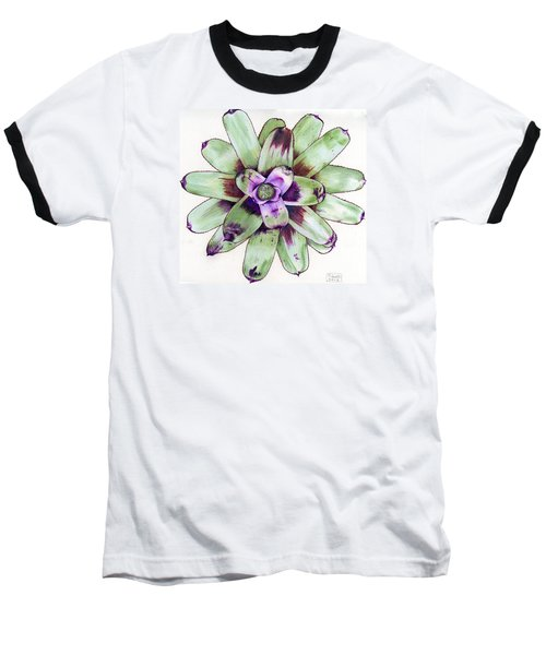 Neoregelia 'painted Delight' Baseball T-Shirt