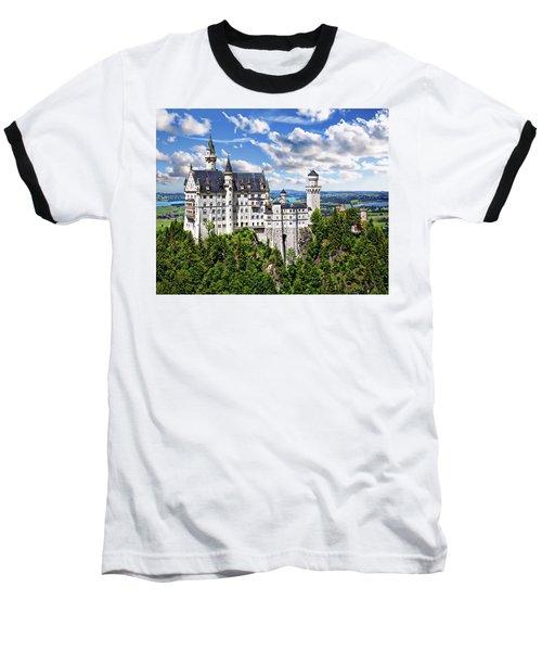 Neuschwanstein Castle Baseball T-Shirt