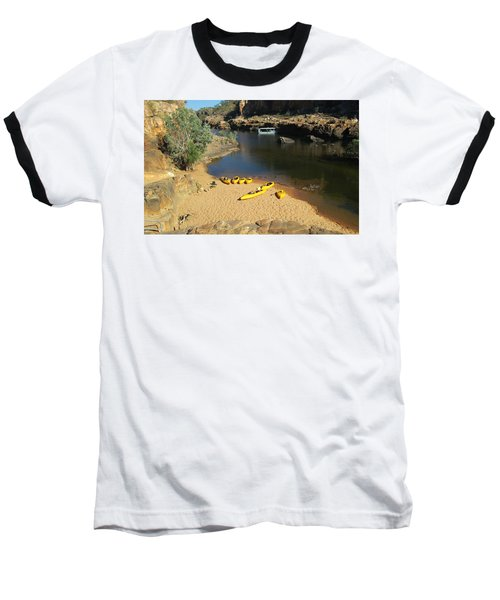 Nitmiluk Gorge Kayaks Baseball T-Shirt
