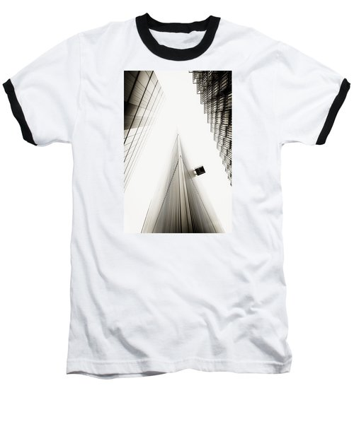 Not The Shard Baseball T-Shirt by Lenny Carter
