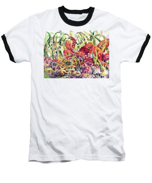 Octopus Garden Baseball T-Shirt