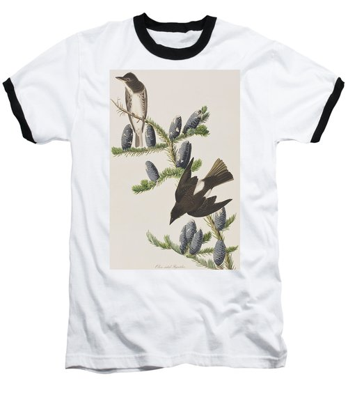 Olive Sided Flycatcher Baseball T-Shirt