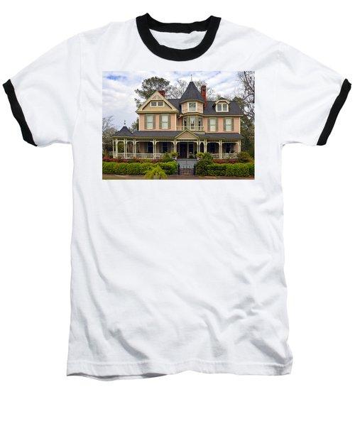 Peach Bainbridge Beauty Baseball T-Shirt by Carla Parris