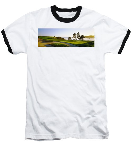 Pebble Beach Golf Course, Pebble Beach Baseball T-Shirt