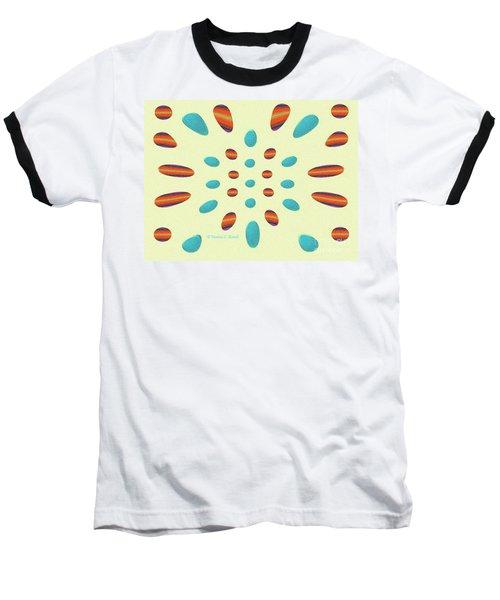 Petals N Dots P7 Baseball T-Shirt