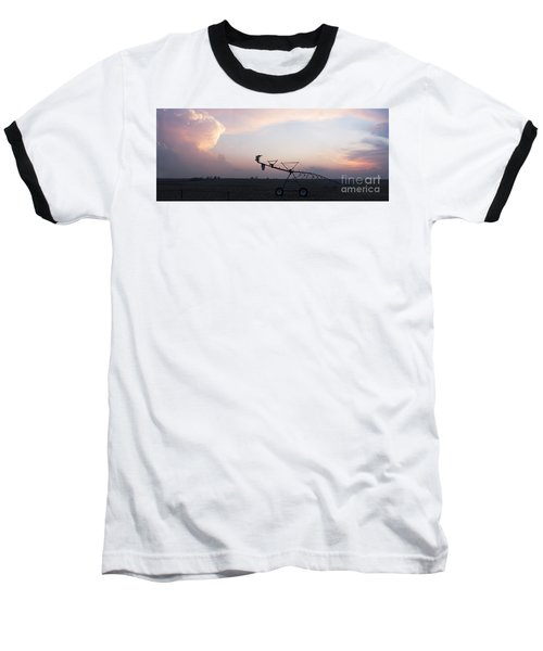Pivot Irrigation And Sunset Baseball T-Shirt
