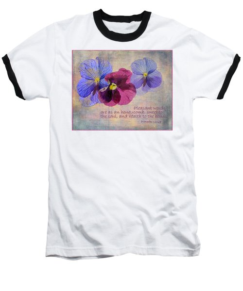 Pleasant Words Baseball T-Shirt