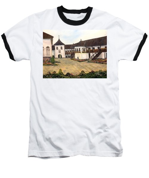 Polovragi Monastery - Romania Baseball T-Shirt