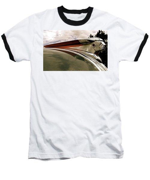 Pontiac Ornament  Baseball T-Shirt by Alan Johnson