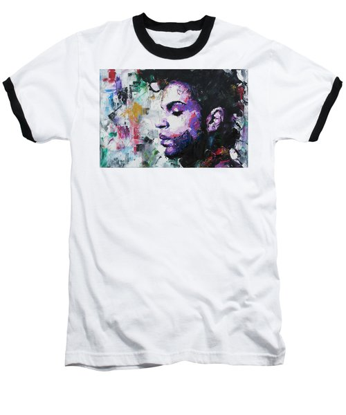 Prince Baseball T-Shirt by Richard Day
