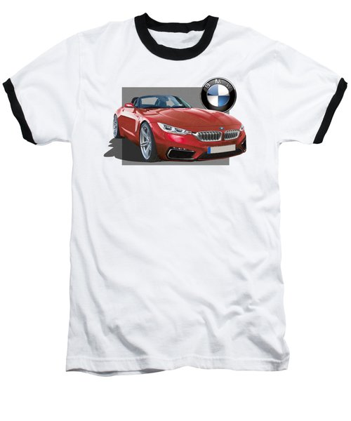 Red 2018 B M W  Z 5 With 3 D Badge  Baseball T-Shirt