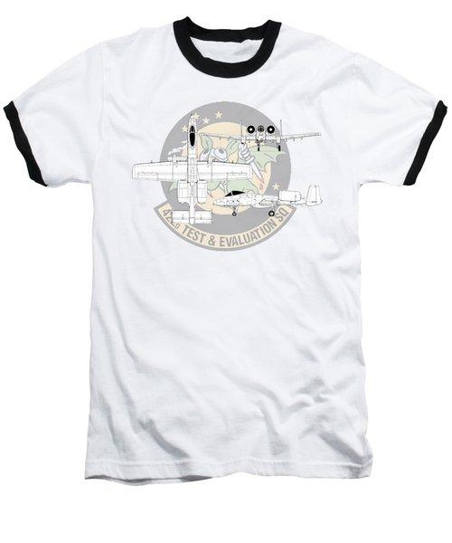 Republic A-10 Thunderbolt II Baseball T-Shirt by Arthur Eggers