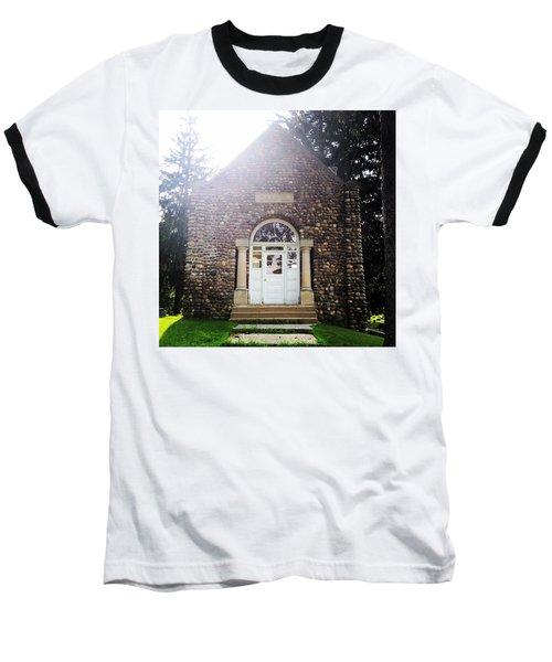 Riverside Cemetery Chapel Baseball T-Shirt