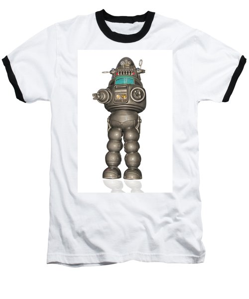 Robby The Robot Baseball T-Shirt