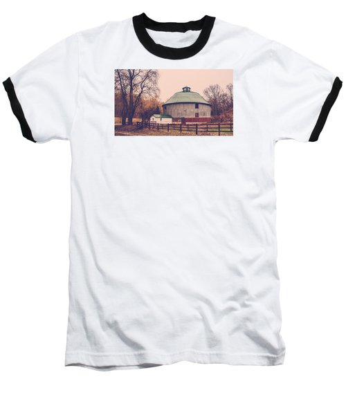 Round Barn Baseball T-Shirt