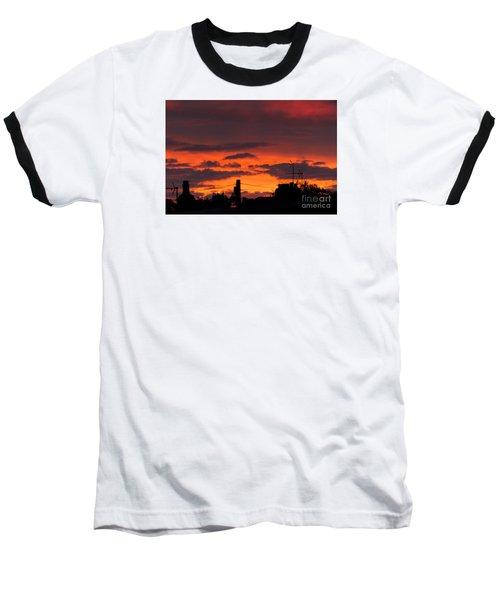Sailors Delight Baseball T-Shirt by David  Hollingworth