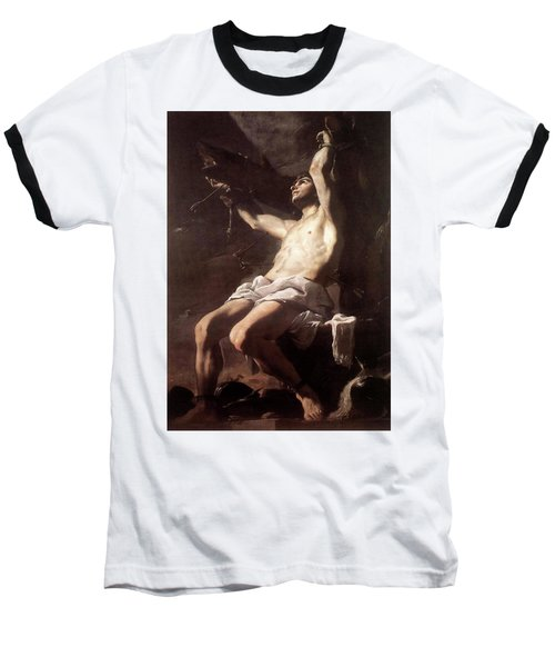 Saint Sebastian By Mattia Preti Baseball T-Shirt