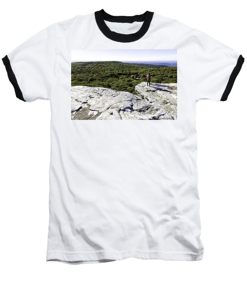 Sams Point Overlook Baseball T-Shirt