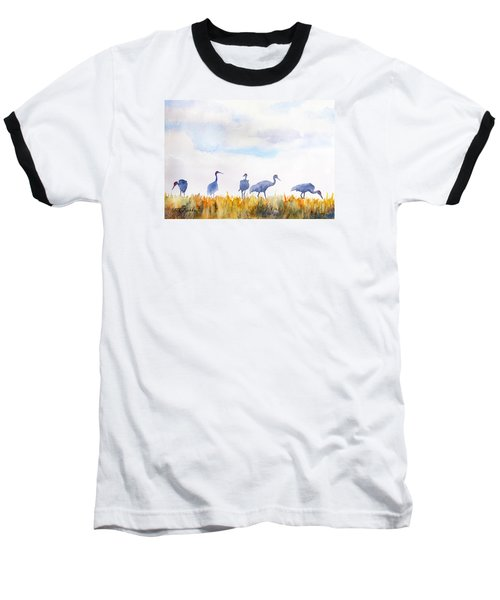 Sandhill Skyline Baseball T-Shirt
