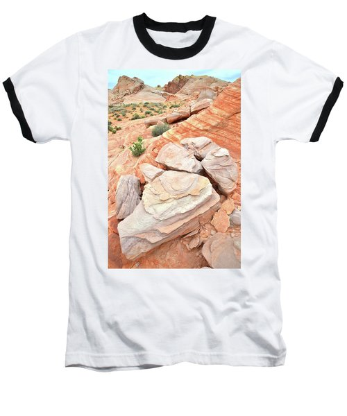 Baseball T-Shirt featuring the photograph Sandstone Cove In Valley Of Fire by Ray Mathis