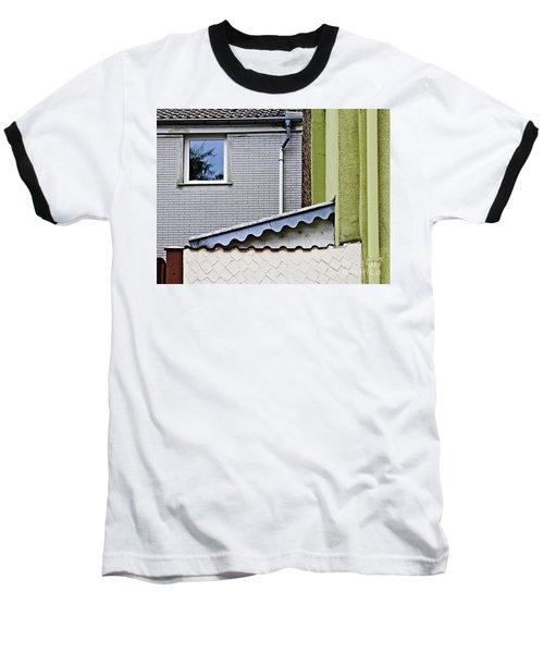 Schierstein Geometrics 2 Baseball T-Shirt by Sarah Loft