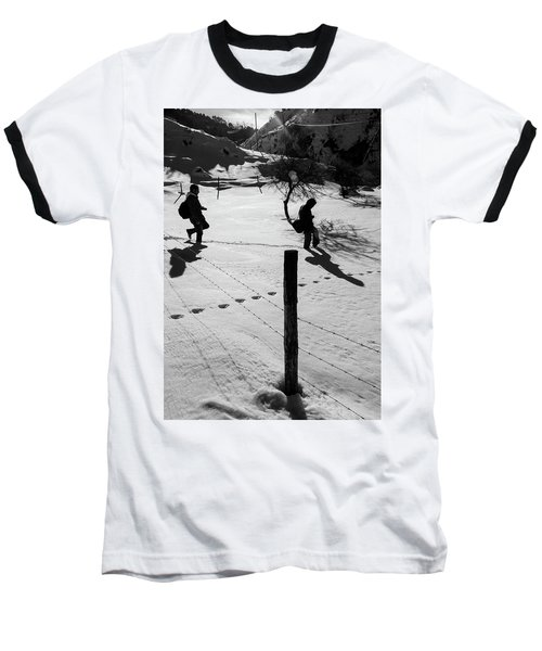 Shadows Baseball T-Shirt