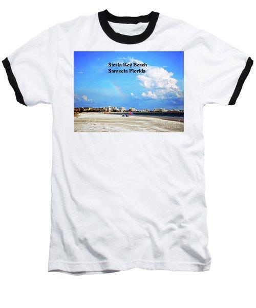 Siesta Beach Baseball T-Shirt