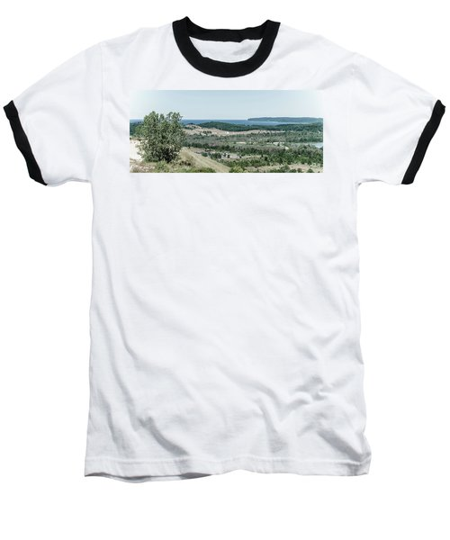 Baseball T-Shirt featuring the photograph Sleeping Bear Dunes National Lakeshore by Alexey Stiop