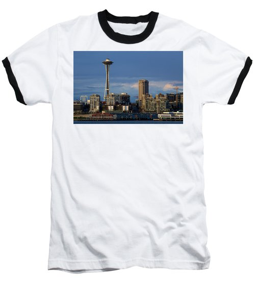 Space Needle Baseball T-Shirt