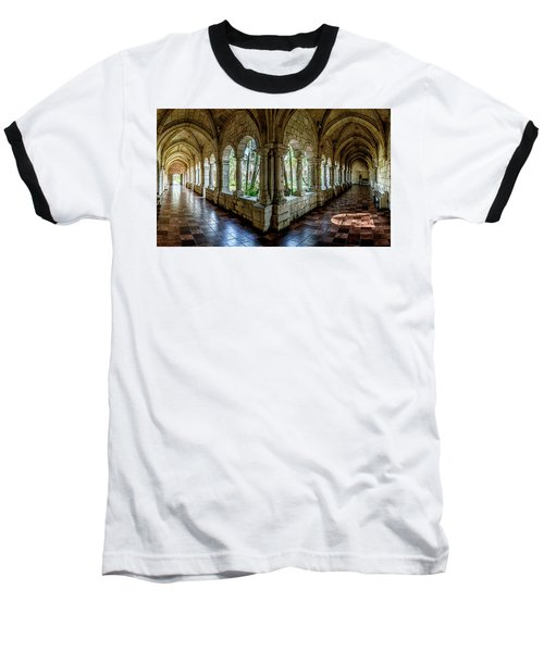 Spanish Monastery Baseball T-Shirt