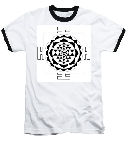 Sri Yantra Baseball T-Shirt