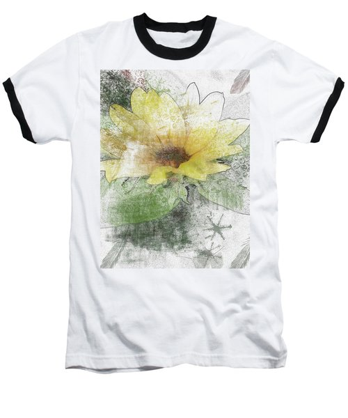 Sunflower Canvas Baseball T-Shirt