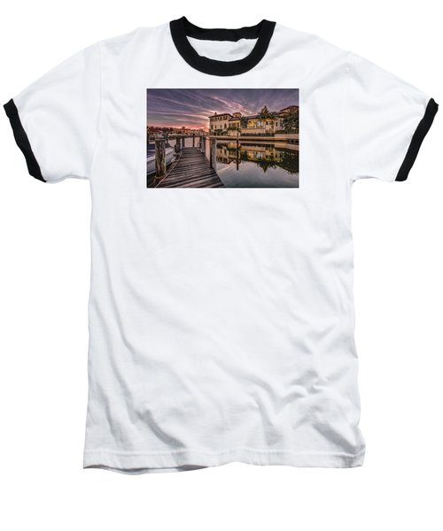 Sunrise At Naples, Florida Baseball T-Shirt