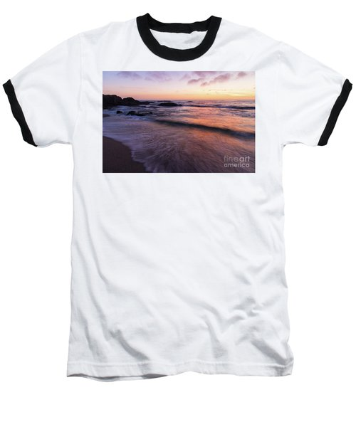 Sunset Over Laguna Beach   Baseball T-Shirt