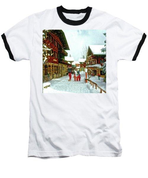 Switzerland Alps Baseball T-Shirt