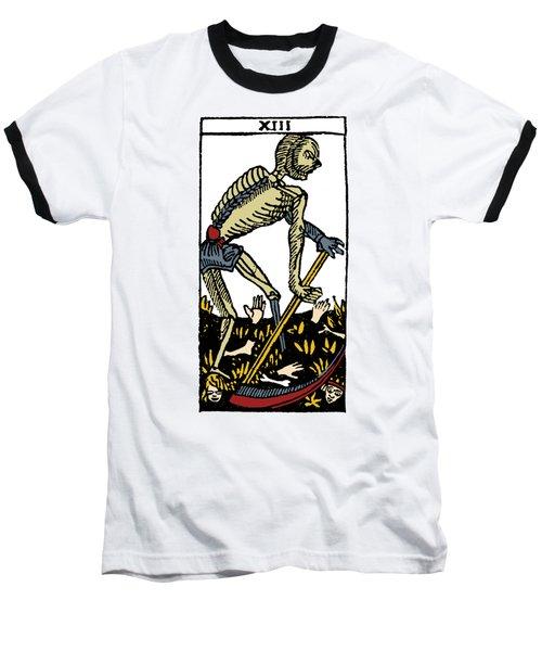 Tarot Card Death Baseball T-Shirt