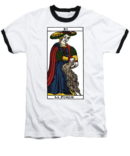 Tarot Card Strength Baseball T-Shirt by Granger