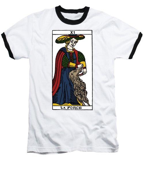 Tarot Card Strength Baseball T-Shirt