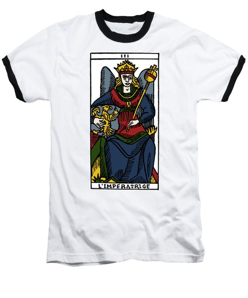 Tarot Card The Empress Baseball T-Shirt