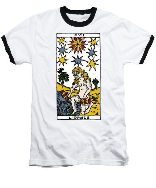 Tarot Card The Stars Baseball T-Shirt