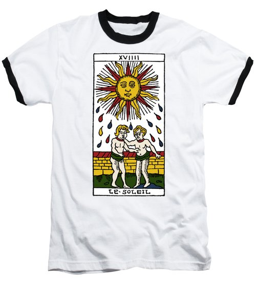 Tarot Card The Sun Baseball T-Shirt by Granger