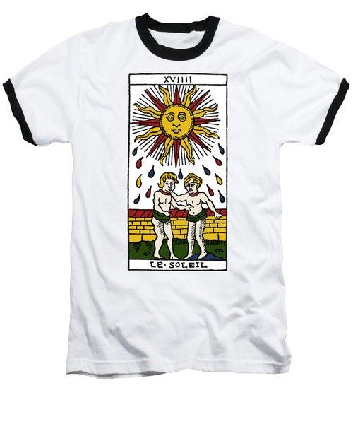 Tarot Card The Sun Baseball T-Shirt