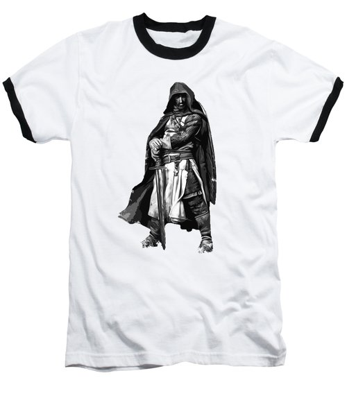 Templar Medieval Warrior Baseball T-Shirt