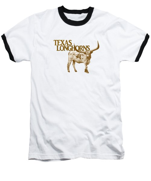 Texas Longhorns Baseball T-Shirt by Priscilla Burgers
