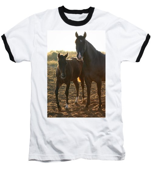Texas Mare  Baseball T-Shirt