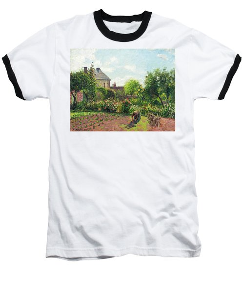 The Artist's Garden At Eragny Baseball T-Shirt